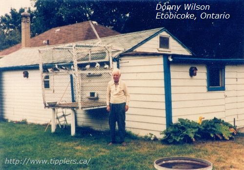 Donny Wilson of Etobicoke, Ontario